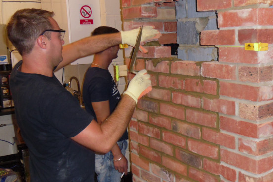 Practical Training session in Masonry Repairs