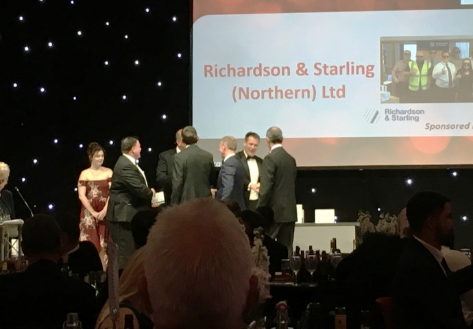 I had the pleasure of presenting the Contractor of the Year Award to Richardson and Starling for the third consecutive year.